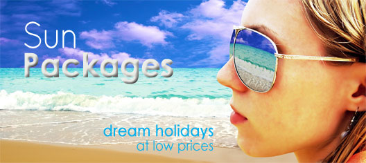 Sun Packages, affordable holidays