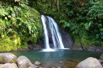 Touristic attractions of Guadeloupe