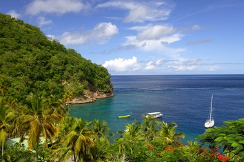 Touristic attractions of Saint Lucia