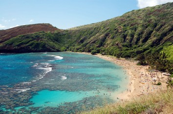 Touristic attractions of Hawaii