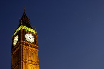 Touristic attractions of London UK